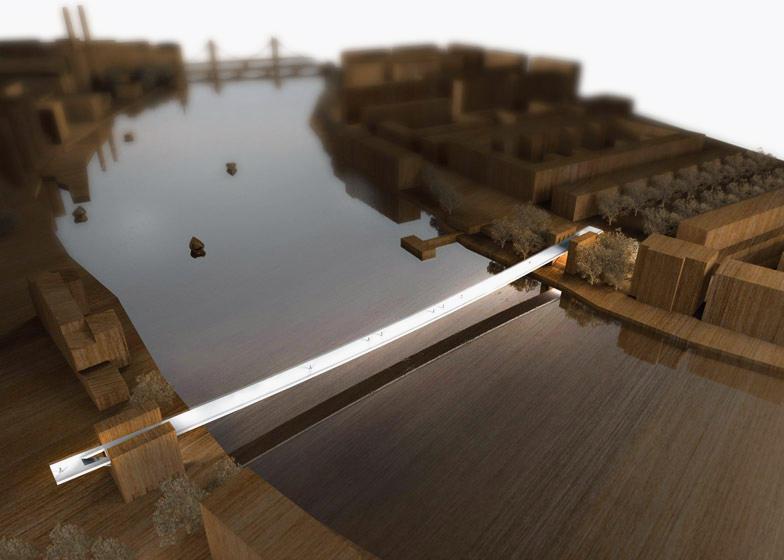 泰晤士河新桥设计方案 你最喜欢哪一版