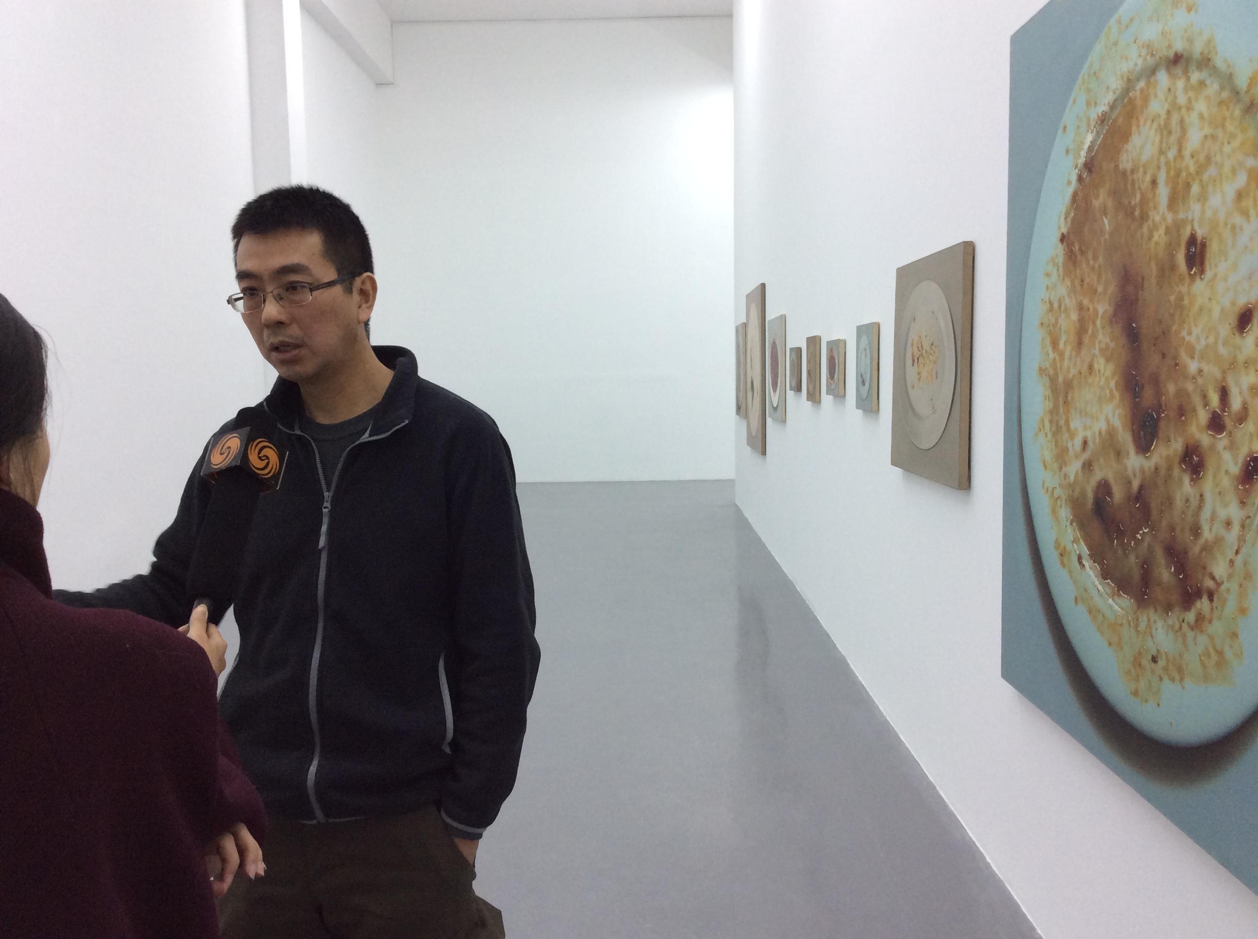 艺术家朱昱长征空间开展谈过往:对自己也是很大的伤害