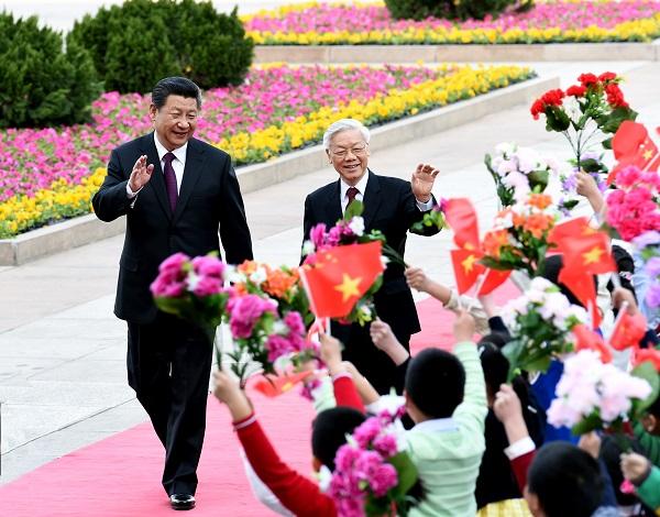 新华社:中方以破格礼仪盛情接待越共总书记传递信号