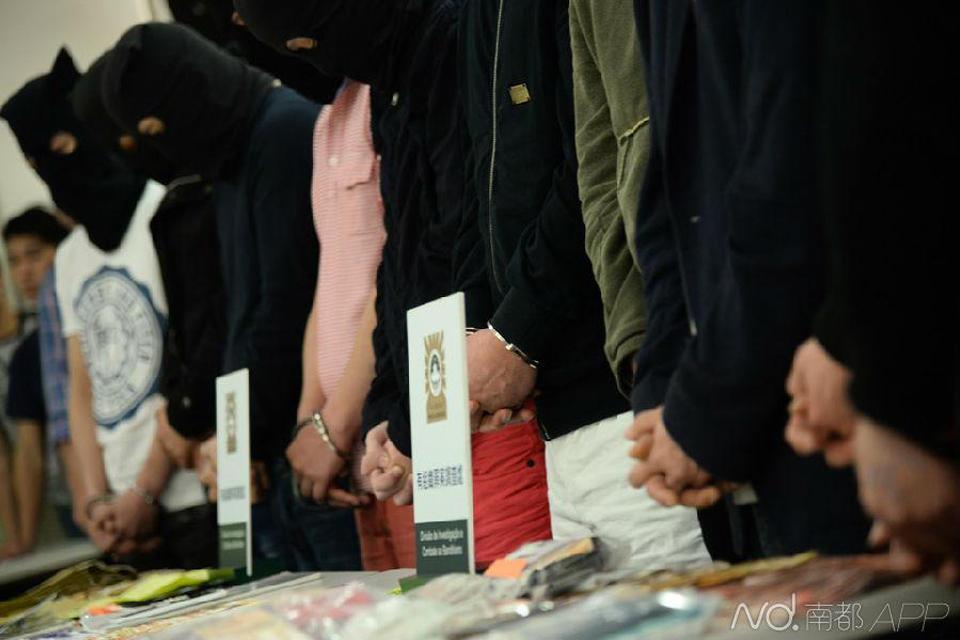 有一帮韩国籍男子组织本国女子前来澳门从事活动