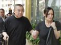 港富豪刘銮雄母亲出殡 获红颜知己陪伴
