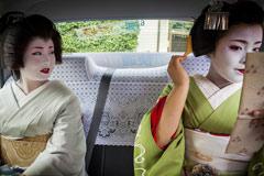 日本艺妓的日常生活