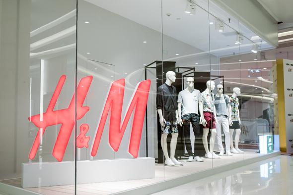 h&m青岛万象城店盛大开业 黄金周购物热潮提前引爆