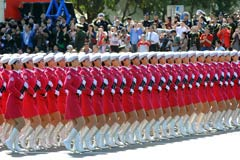 一组展示中国集体力量的照片