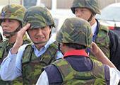 马英九声称:两岸能维持和平全因台军强化战力