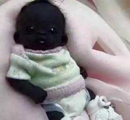 世界最黑小孩南非出生