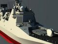 美媒:中国055级万吨驱逐舰开建 备弹128枚