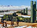曝解放军被上一课 S-300遭反辐射导弹摧毁