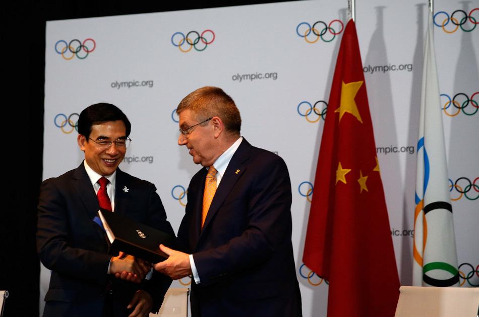 2022年冬奥会对于北京乃至整个中国所具有的重大意义 - li-han163 - 李 晗