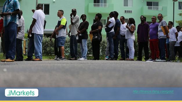 洲迈阿密城一场建筑工人招聘会,来源:Getty Images-7月份非农增