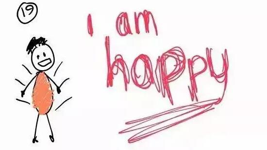 我的快乐就是想你l的曲谱-19、我很开心!-9岁男孩漫画诉心事 父母离异没有想的那么糟