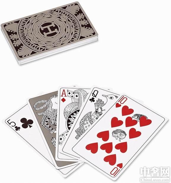 什么?土豪连打扑克牌都用爱马仕?