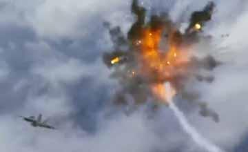 """美热播""""对华神剧"""":F-18弹尽粮绝 击落枭龙战机"""