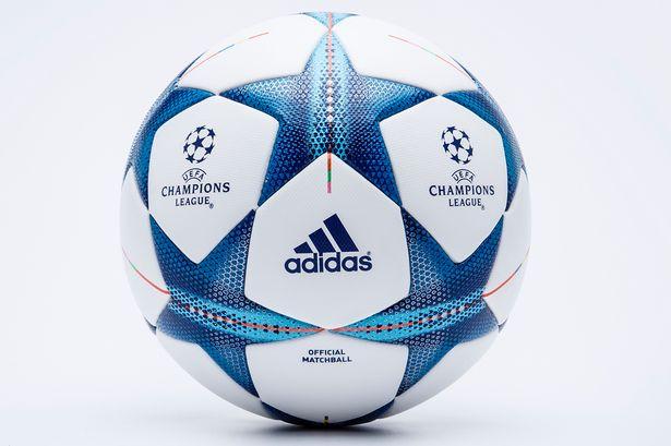 新赛季欧冠用球正式发布 蓝白色块拼接搭配明快(图)图片