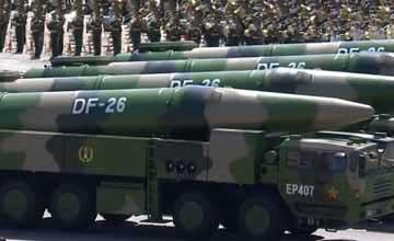 独家:东风-26能打军舰 东风-5B配分导核弹头