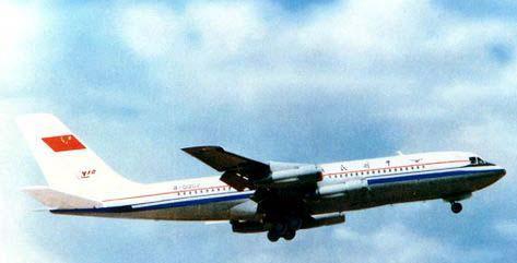 中国自主研制的运-10大飞机