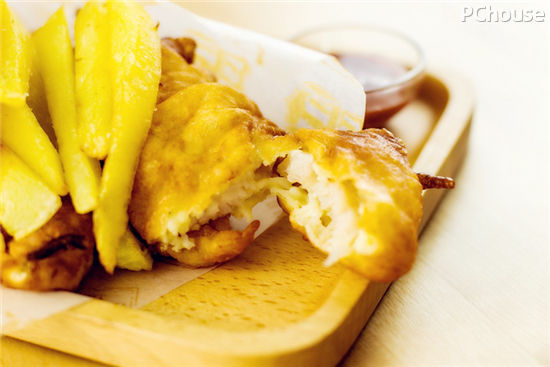 点名要吃的炸鱼薯条巧手做图片