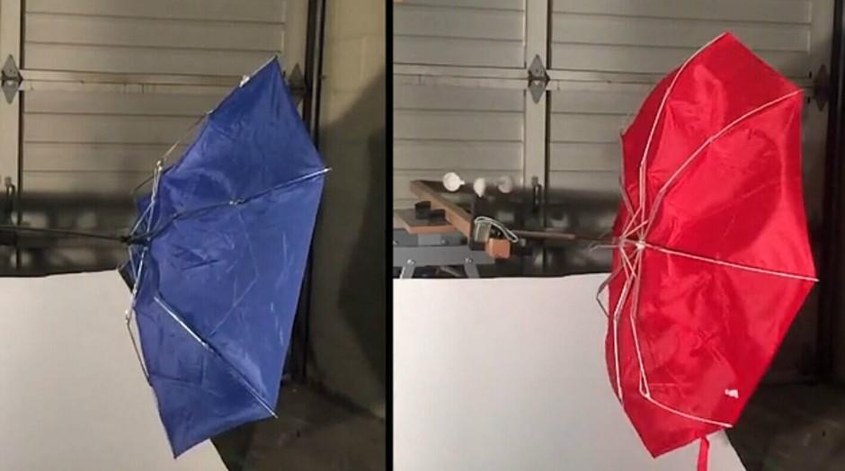柏树一样坚固的3D打印雨伞 配独立悬架系统的照片 - 25