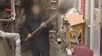 北京女子与公公法院对骂 公公遭儿媳铁铲爆头