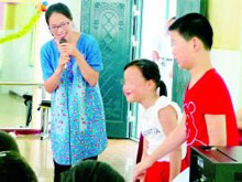 """""""女童保护""""淮安市区首位志愿者讲师上岗"""