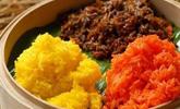苗家三色饭——极具苗族风味色彩的传统小吃