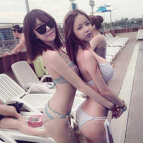 韩国妹子的身材不科学