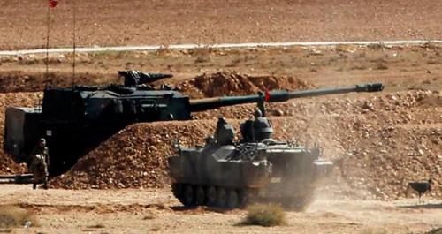 土耳其报复打击IS目标 击毙200名武装分子(图)