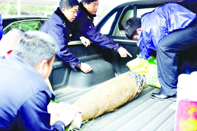 """废品站50元买200多斤""""铁疙瘩"""" 擦干净竟是炸弹!"""
