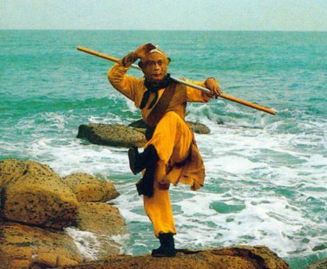 六小龄童在86版电视剧《西游记》中饰演的孙悟空