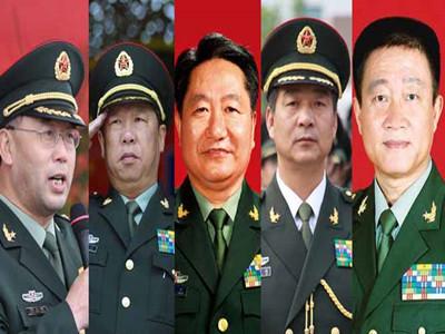 中部战区空军领导名单
