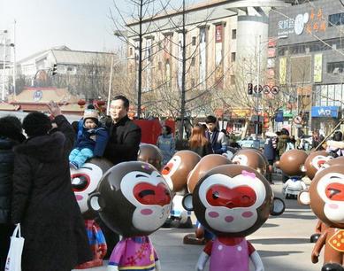 济南:百猴闹春