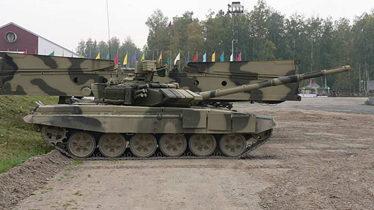 俄军陆上猛虎出征叙利亚 T-90坦克首立战功