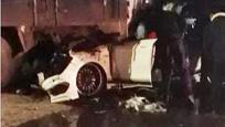 湖南富二代醉驾奔驰超速追尾 车上3靓丽女子当场身亡