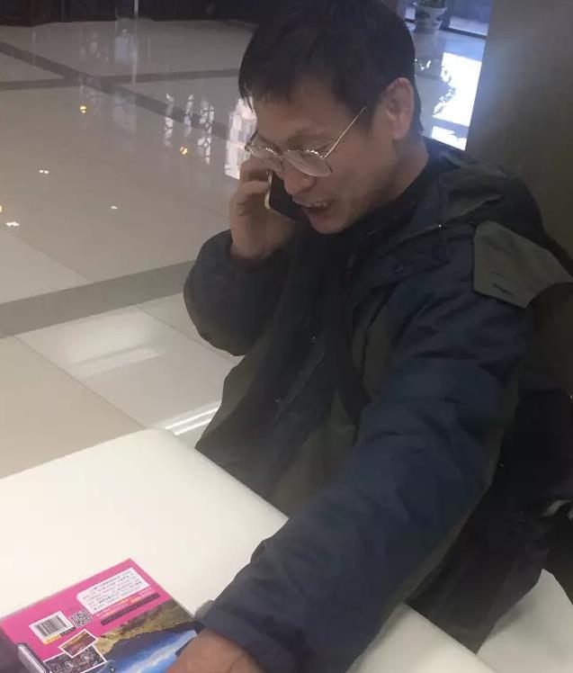 """""""引力波民科""""郭英森走红 有人咨询灵魂出窍(组图)"""