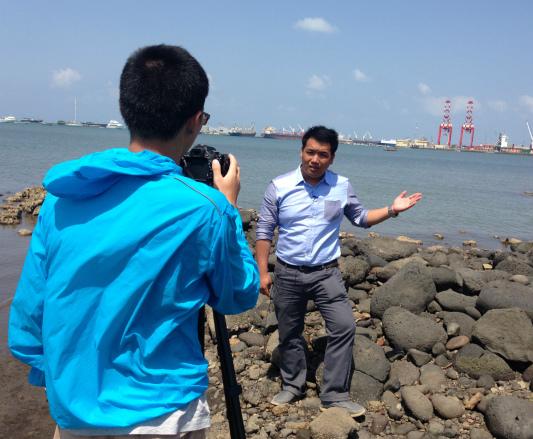 凤凰卫视独家进入吉布提 揭开中国建设军港的神