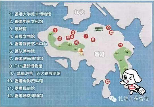 香港大学校园地图