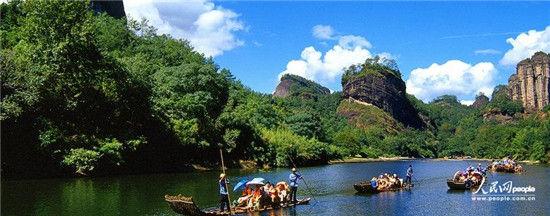 武夷山风景区位于福建省武夷山市南郊,武夷山脉北段东南麓,是我国