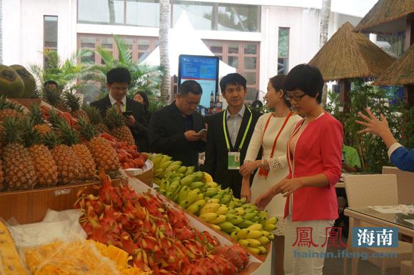 博鳌论坛百姓代表参观风情美食园 关注食品安全