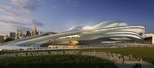 《产经新闻》5日报道,日本著名建筑师矶崎新批评建设中的2020年奥运会
