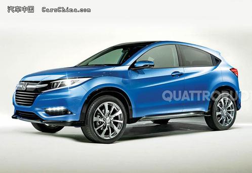 本田全新小型SUV假想图曝光 或明年发布高清图片