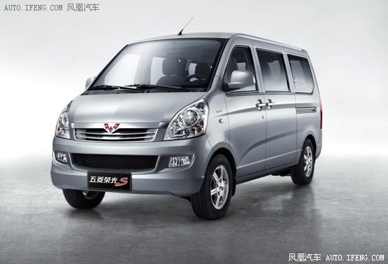 装载容积达4500l 五菱荣光s将12月上市