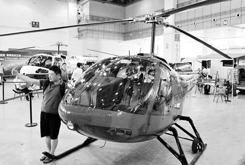 售价480万元的直升机 图/本报记者万多