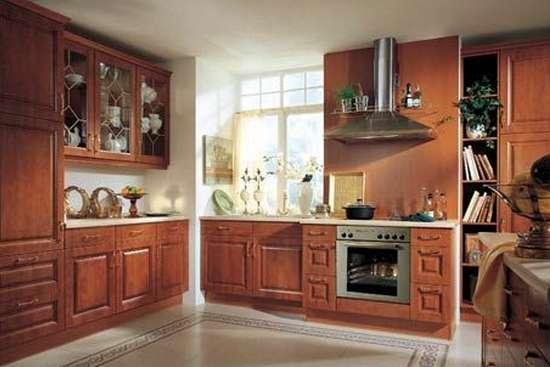 欧式古典风格厨房设计图赏图片