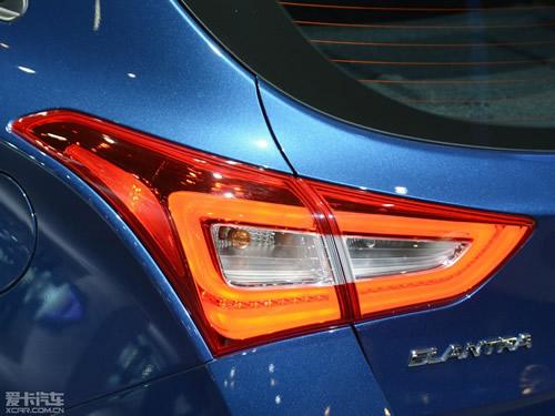 2016款现代伊兰特GT芝加哥车展亮相 海外开售高清图片