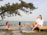 离海最近的温泉 青岛涵碧楼温泉源深1500米