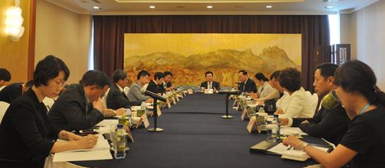 第七届世界华文传媒论坛举行海外重要华媒见面会(组图)
