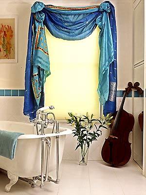浴室阴湿、不洁、有异味,破财。
