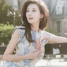 林志玲:愿把明月换飞鸿