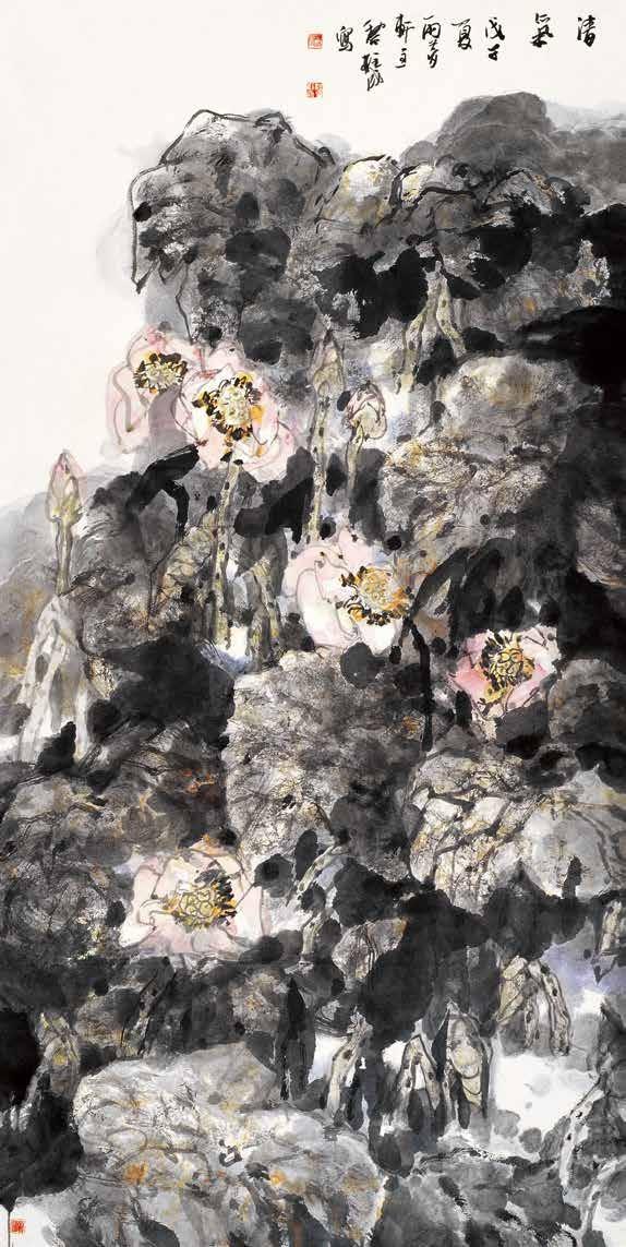 清气 黎柱成 / Fresh Air Li Zhucheng / 248cm×124cm