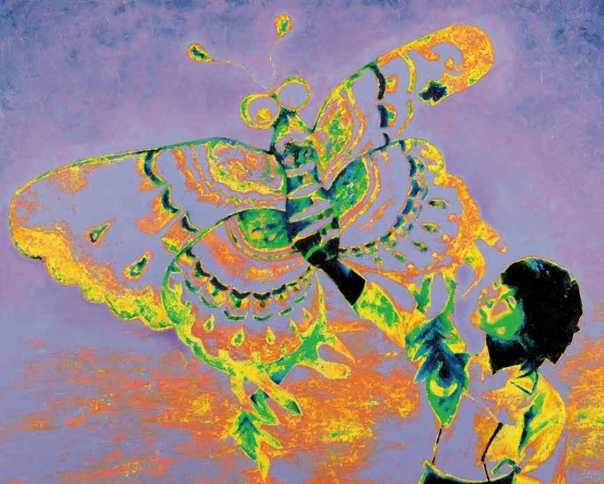 腾飞 黛安娜·弗朗切希(英国) / Taking Flight Diana Francis (U.K.) / 100cm×126cm